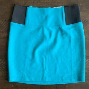 Teal Charlotte Russe body con skirt
